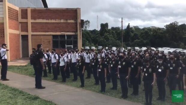 Vídeo: investigadores humilham escrivães em curso para policiais
