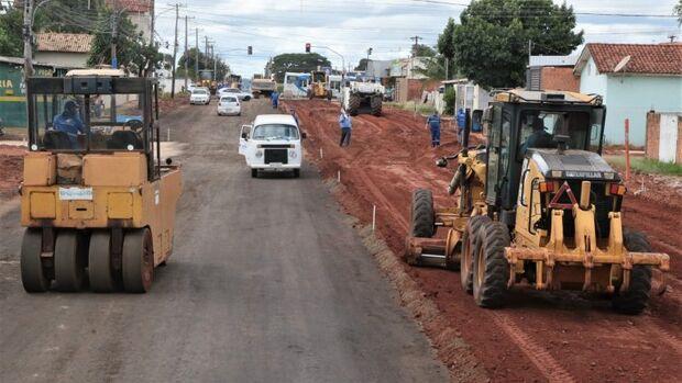 Prefeitura planeja entrega de duplicação de rua comercial do Nova Lima