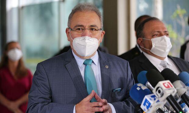 Novo ministro da Saúde quer ir a hospitais conferir se mortes são por covid