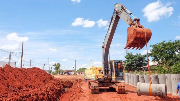 Prefeitura retoma obras do prolongamento da Avenida Rita Vieira