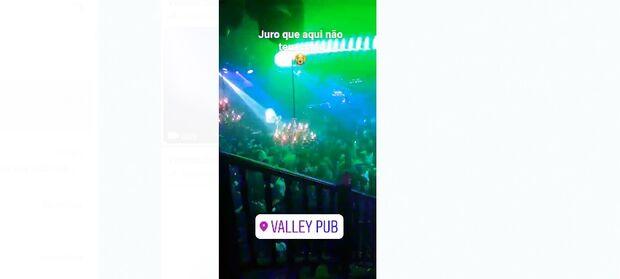 Vídeos mostram 'festa da covid' na Valley Pub de Campo Grande