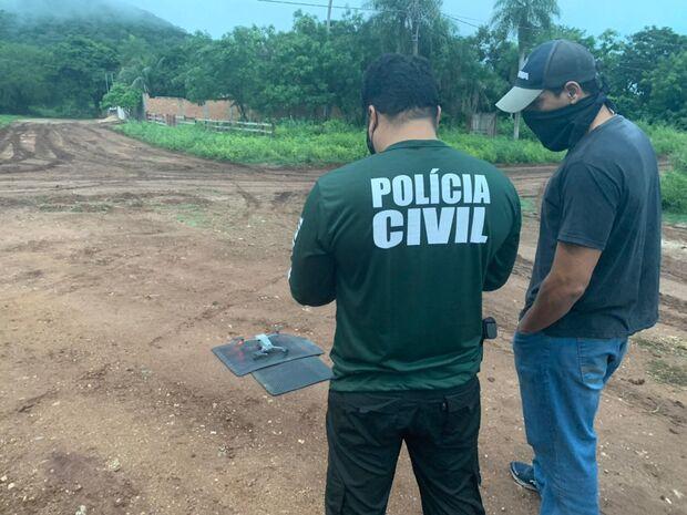 Suspeito de matar policial é preso em Ladário