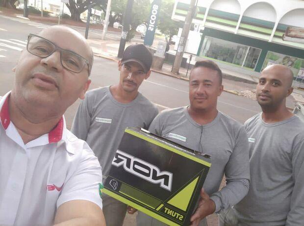 Dia de Heróis: trabalhadores impedem furto em loja na Rui Barbosa