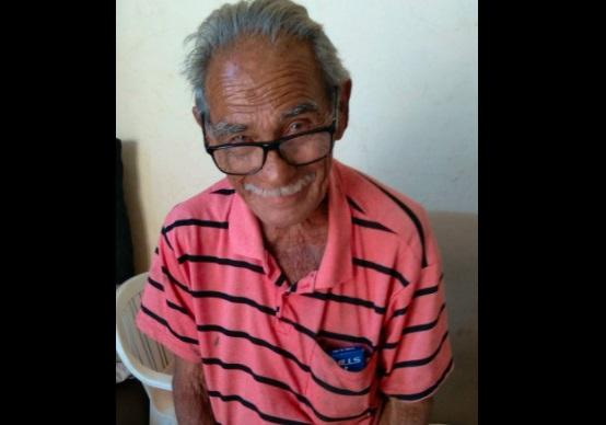 Ajuda aí: seu Afonso tem 82 anos e está desaparecido na região do Aero Rancho