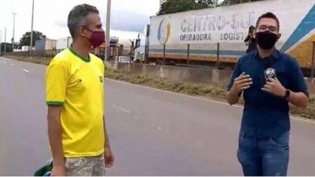 Dagoberto cita uma morte por dia e risco de surra e inclui jornalistas na vacina contra covid