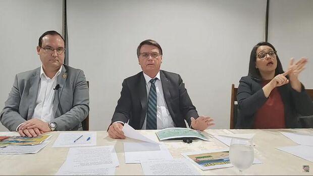 Bolsonaro desafia governadores a criarem auxílio de mil reais