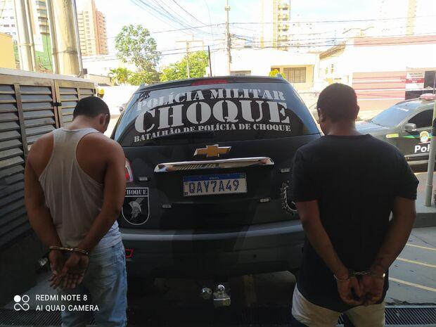 PM de folga evita assalto e prende dupla no Campo Novo