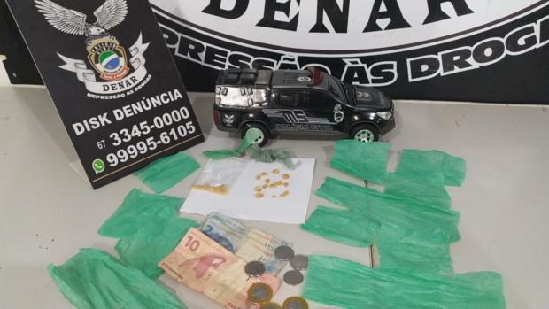 Família do crime: mãe e filho são presos por tráfico no Santa Luzia