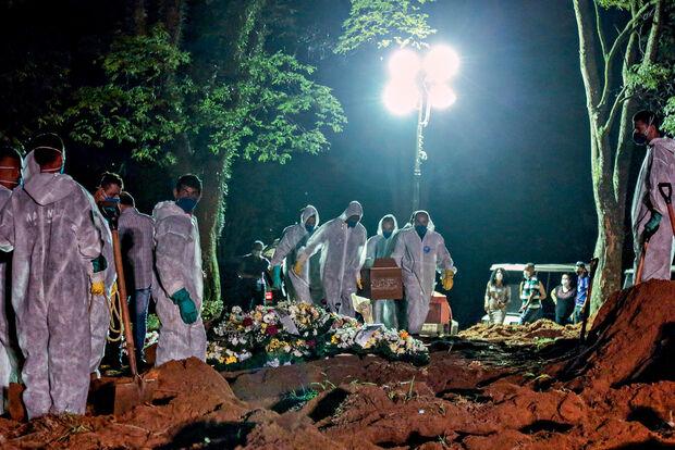 Brasil perde 2,9 mil vidas para a covid em 24 horas
