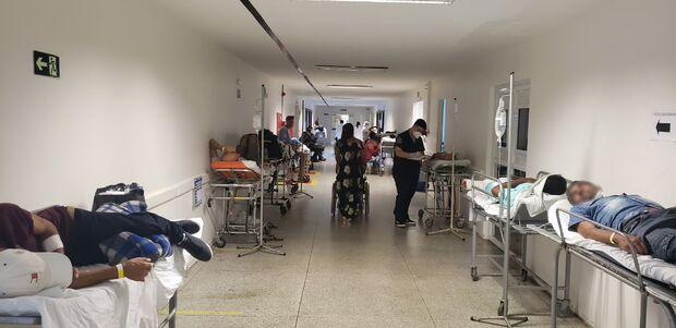 Santa Casa está com 99 pacientes acima da capacidade