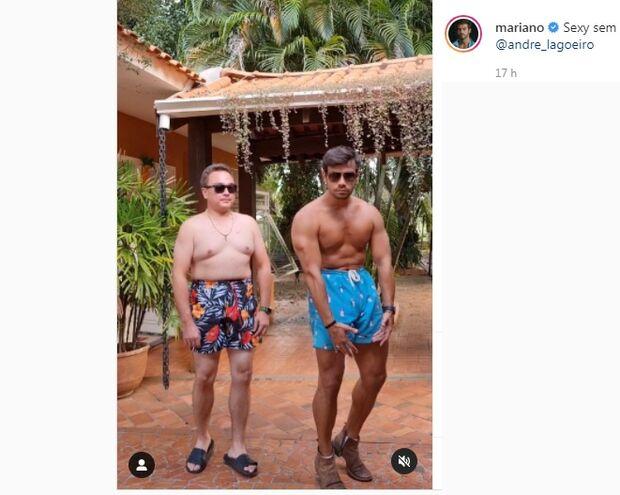 Vídeo: Mariano faz dancinha 'sexy' e viraliza
