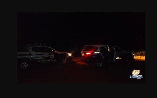 Polícia faz caçada a foragidos em Sidrolândia; um é baleado na perna