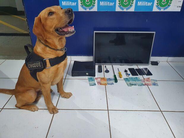 Trio é preso por associação criminosa em roubo no Nova Lima