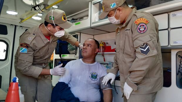 Sargentos da PM evitam tragédia ao salvar crianças de incêndio no Pioneiros