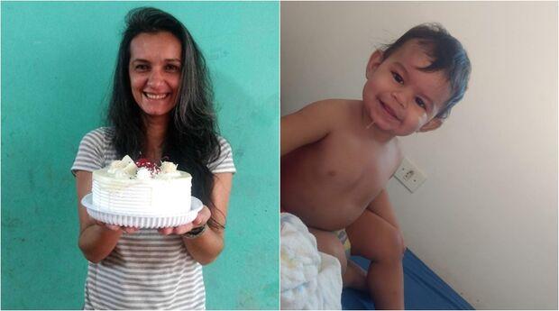Filha pede ajuda para encontrar mãe e irmãozinho desaparecidos em Campo Grande