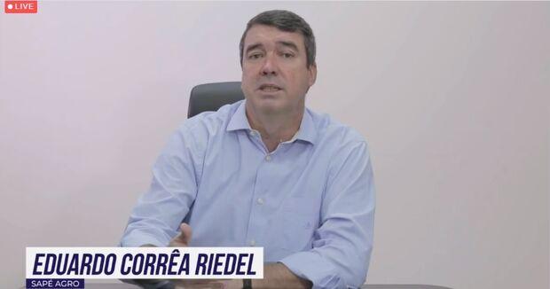 Em Congresso Mundial, Riedel fala sobre a potencialidade do agronegócio para desenvolvimento de MS