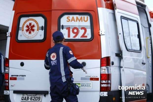Motociclista morre após cair de moto em Ponta Porã