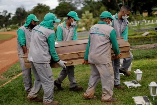 Brasil registra 1.024 mortes por covid-19 nas últimas 24h