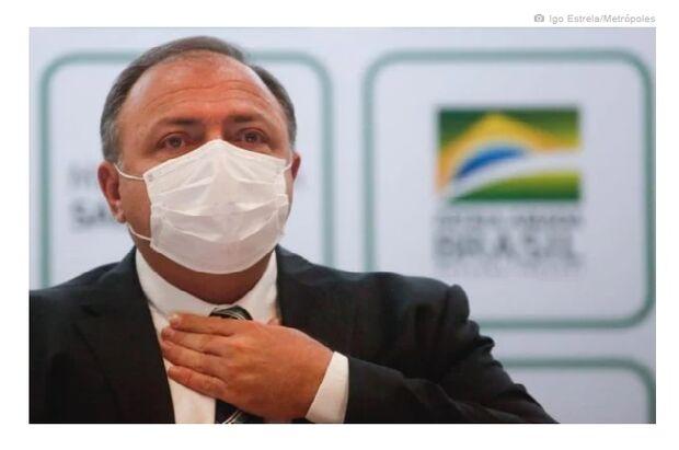 Pazuello não vai à CPI por ter tido contato com infectados pela covid-19