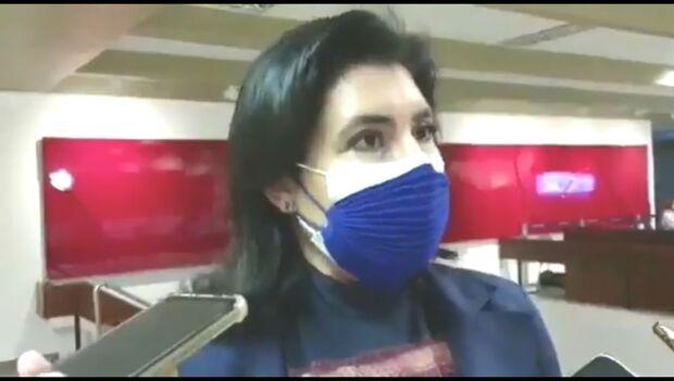 Bolsonaristas atacam Simone Tebet por conta da CPI da pandemia