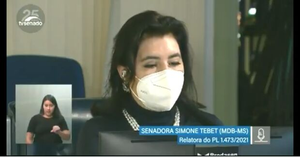 Com relatoria de Simone Tebet, Senado aprova audiência de custódia via videoconferência