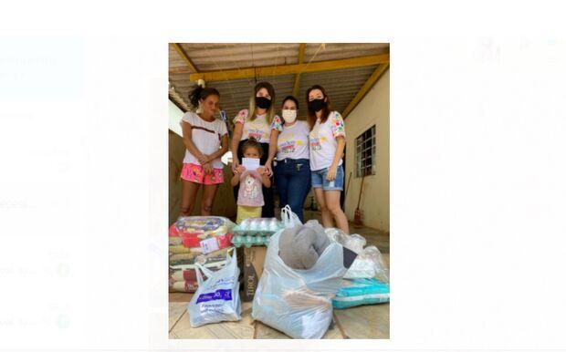 Projeto Sorriso Feliz ajuda com aluguel, fraldas e alimentos para mãe solo de 4 filhos