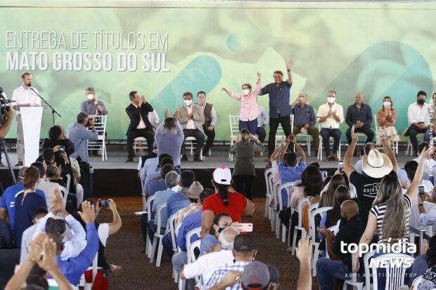 Ministra Tereza Cristina é a maior responsável por entrega de títulos em MS