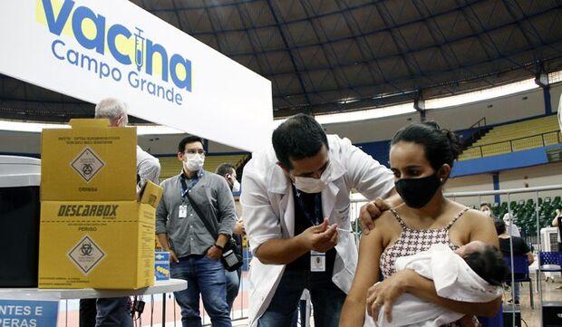 Mais de um milhão de pessoas vacinadas contra Covid-19 com 1ª dose em MS