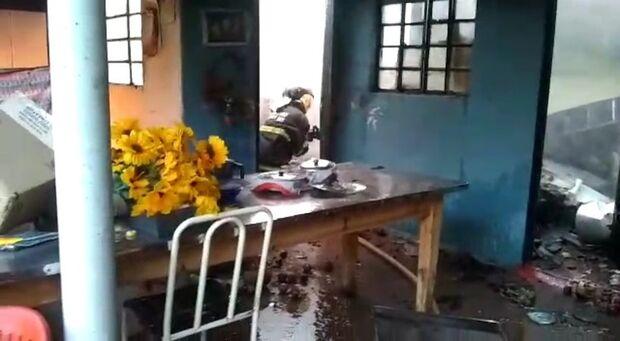 Ex-marido e tio tentam matar mulher e colocam fogo em residência em Três Lagoas