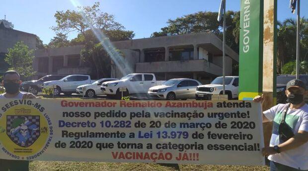 Vigilantes seguem na batalha para inclusão da classe na vacinação contra covid