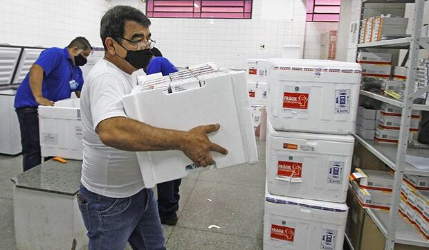 Mato Grosso do Sul recebe novo lote doses da vacina contra Covid-19