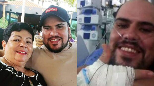 Emoção: comerciante de Dourados vence a covid e pode voltar de Rondônia
