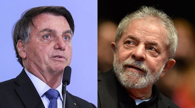 Pesquisa indica empate técnico entre Bolsonaro e Lula em 2022