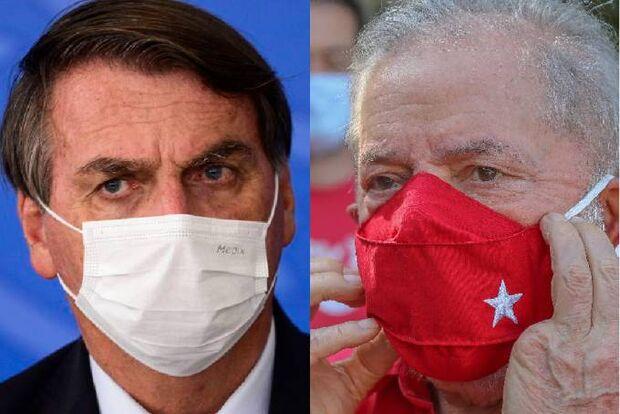 Pesquisa: Lula volta a ganhar de Bolsonaro em disputa pela presidência
