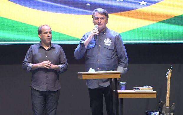 Bolsonaro volta a dizer que venceu eleição no 1º turno: 'tenho provas'