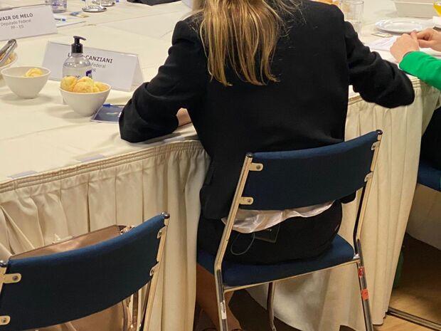 Deputada é flagrada gravando reunião do MEC com microfone da Globo escondido