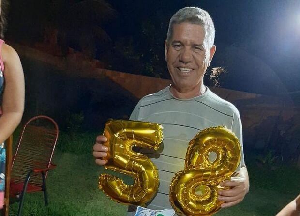Covid-19 tirou Luiz Carlos 'Cebola' da esposa e dos quatro filhos em Ribas