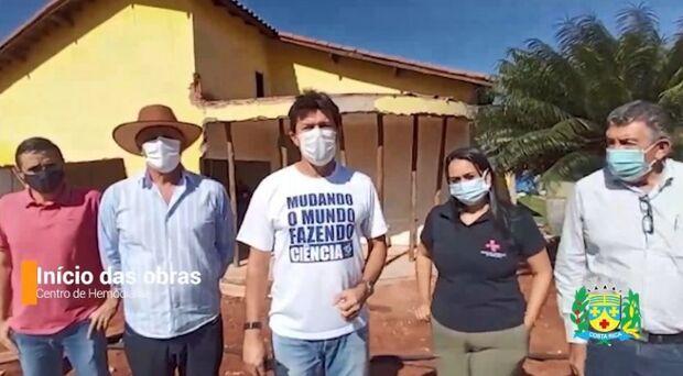 Em 60 dias, Centro de hemodiálise de Costa Rica deve ser entregue a população