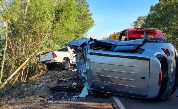 Vítimas de acidente que matou criança são identificadas
