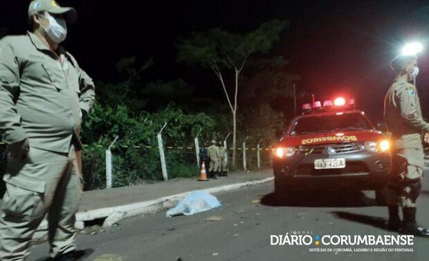 Motorista que matou mulher atropelada se cala durante depoimento em Corumbá