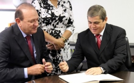 Osmar Jeronymo, Waldir Neves e Chadid são os alvos da Polícia Federal