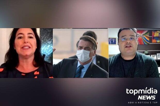 Bolsonaro revolta políticos de MS com campanha contra uso de máscaras