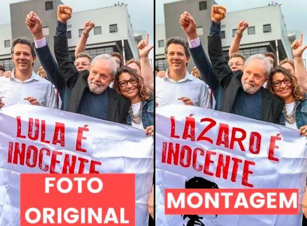 Jornal esclarece que montagens de serial killer do DF ao lado de Lula são falsas