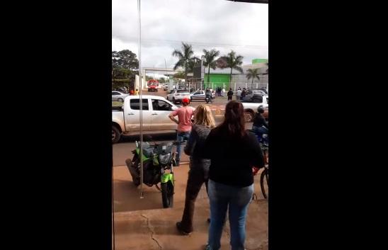 Traficante troca tiros com policiais e morre na linha de fronteira