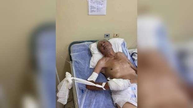 Abandonado: idoso é transferido para hospital sem nenhuma família para chamar de sua