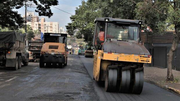 Prefeitura inicia recapeamento na José Antônio, futuro corredor gastronômico