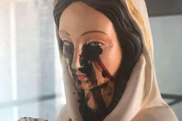 Imagem de Nossa Senhora 'chora' sangue' e vira mistério no Piauí