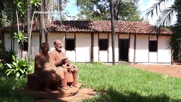 Fundador de Campo Grande construiu igreja de Stº Antônio para pagar promessa