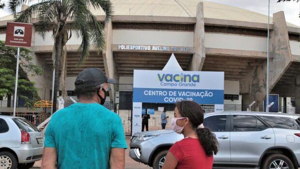 Vacinação no domingo em Campo Grande é exclusivo para lactantes