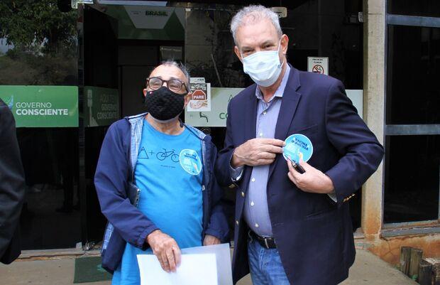 Com mais de 200 infectados, Sindjor-MS participa do Dia de Luta para Vacinação dos Jornalistas